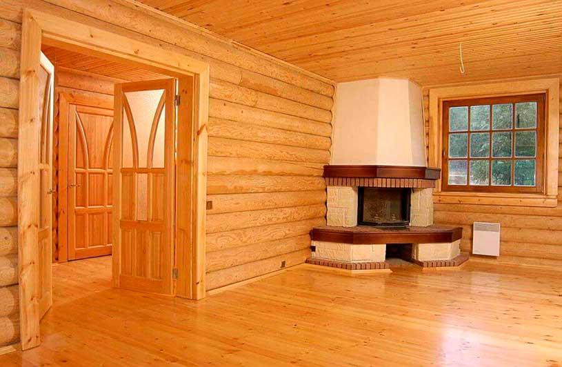 Внутренняя отделка деревянных стен своими руками